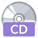 cd, create, disc, format, new, quality, storage icon
