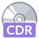 cdr, create, disc, format, new, quality, storage icon