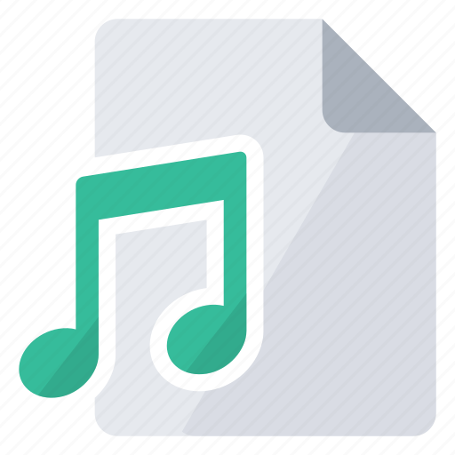 create, document, file, music, new, song, sound icon