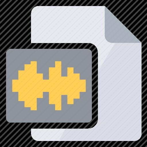 Analysis, audio, document, sound, spectrum icon - Download on Iconfinder