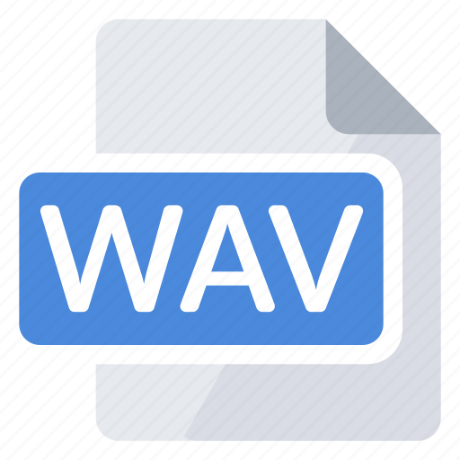 create, document, extension, file, new, type, wav icon