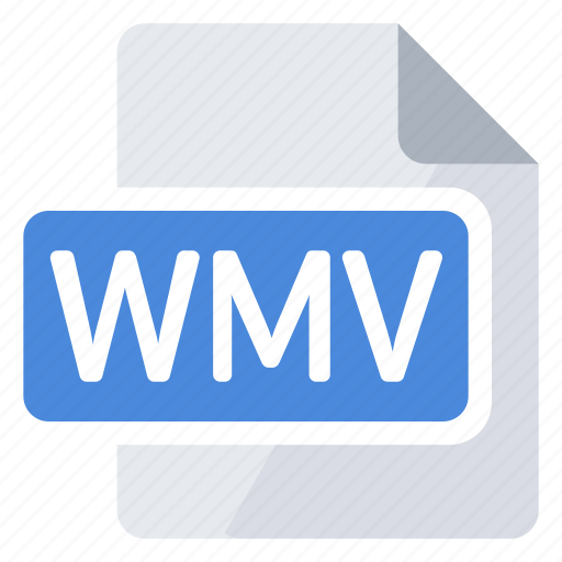 create, document, extension, file, new, type, wmv icon