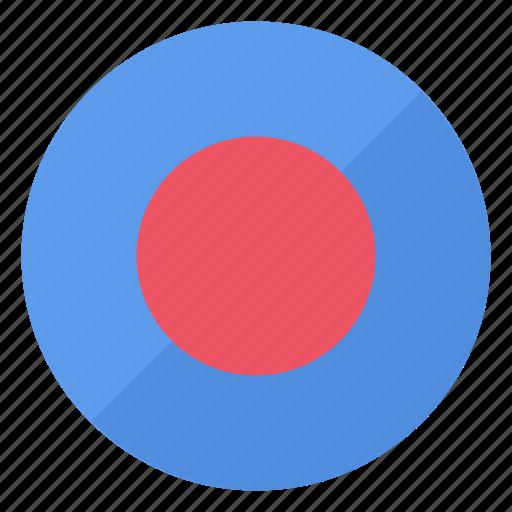 blue, btn, record icon