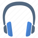 headphones, hear, music, song, sound icon