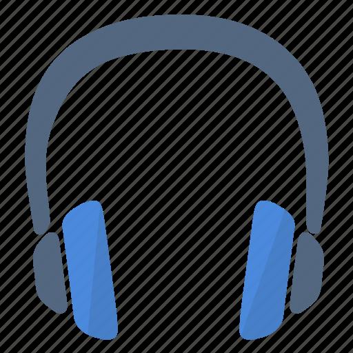 headphones, hear, music, song, sound icon