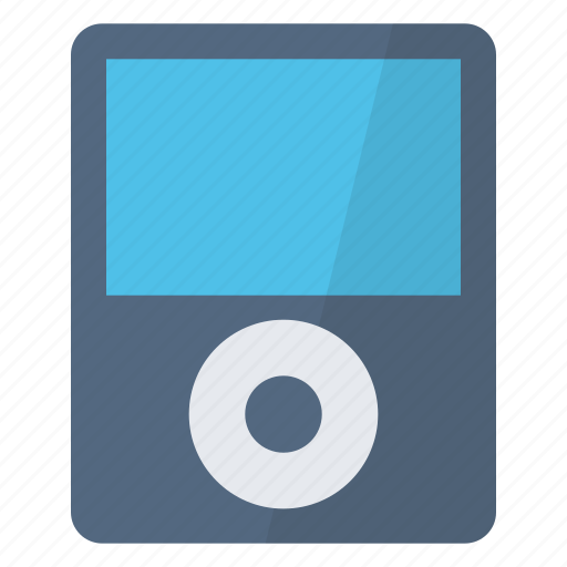 device, electronic, ipod, music, podcasts, songs icon