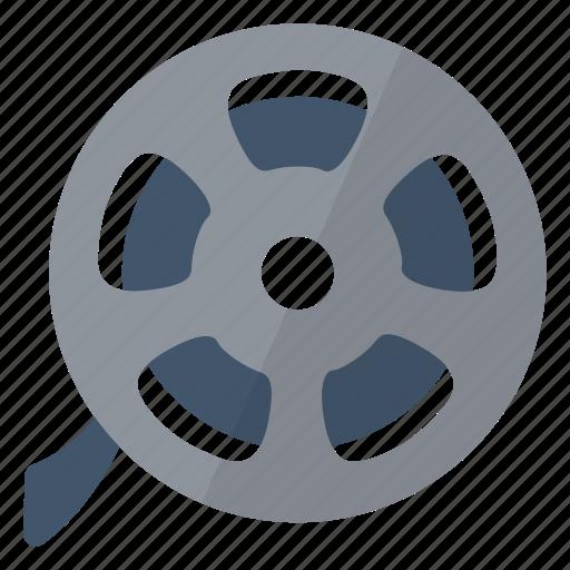 film, movie, multimedia, reel, roll icon