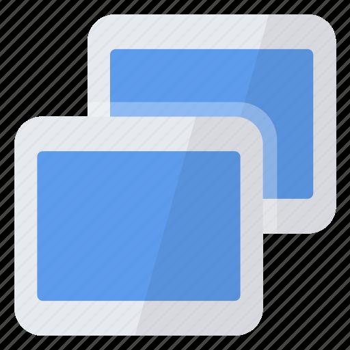 create, new, several, slides icon