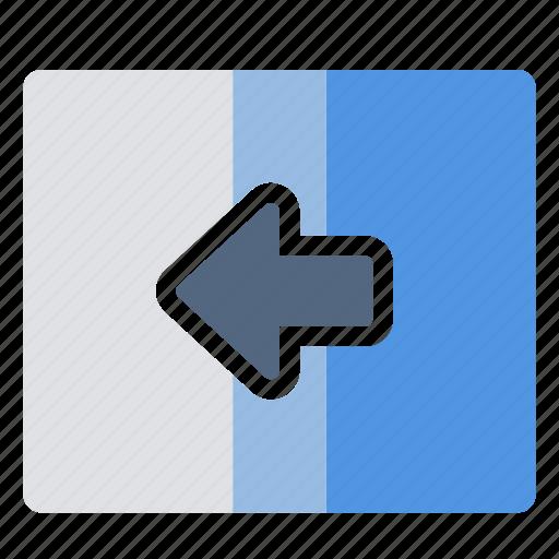 transition, wipe icon