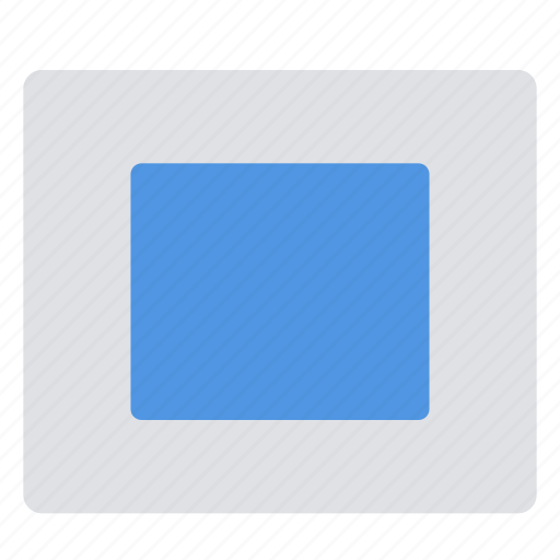 in, transition, zoom icon