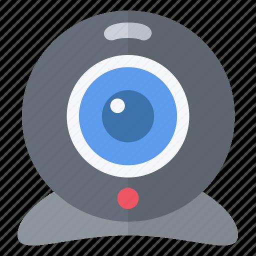 filming, skype, visio, webcam icon