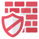 shield, antivirus, protection, security, firewall icon