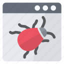 alert, copy, malware, security icon