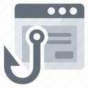application, phishing, security, spam icon