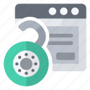 application, open, security, unlock icon