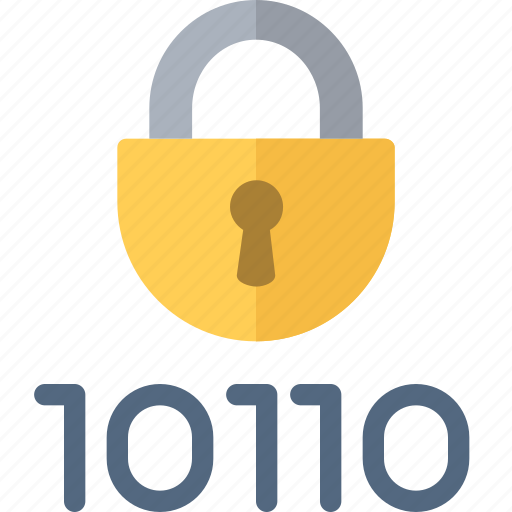 encryption, numbers, protection, security icon