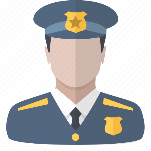 people, policeman, protection, security icon