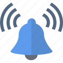 alarm, bell, security, sound icon
