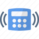 alarm, bell, central, security, unit icon
