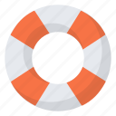buoy, object, rescue, security icon