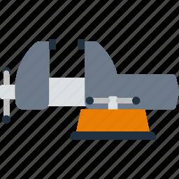 design, grip, mechanic, tool, vise, workshop icon