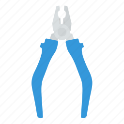 design, handle, mechanic, pliers, tool, workshop icon