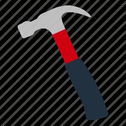 design, hammer, hit, mechanic, tool, workshop icon