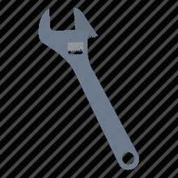 adjustable, design, mechanic, tool, workshop, wrench icon