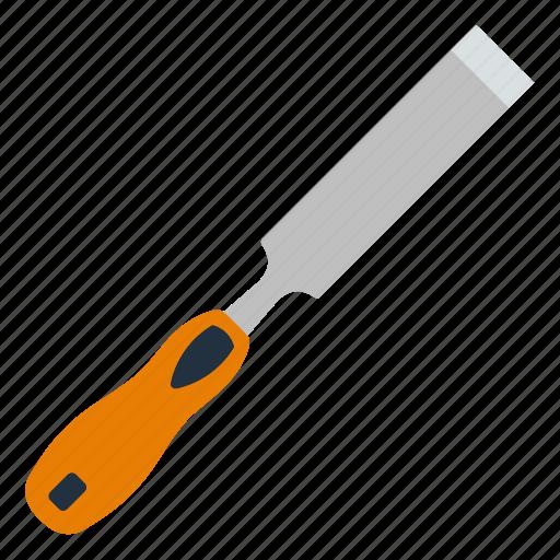 chisel, curving, design, mechanic, tool, workshop icon