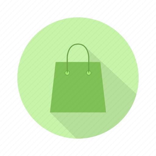 bag, isolated, paper, shopping, white icon