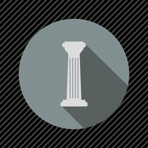 column, greek, ionic, pillar, roman icon