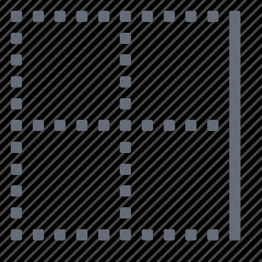 border, right icon