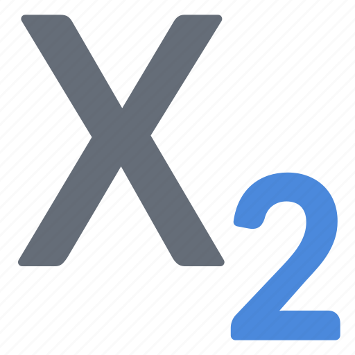 character, index, large, processing, subscript, word icon