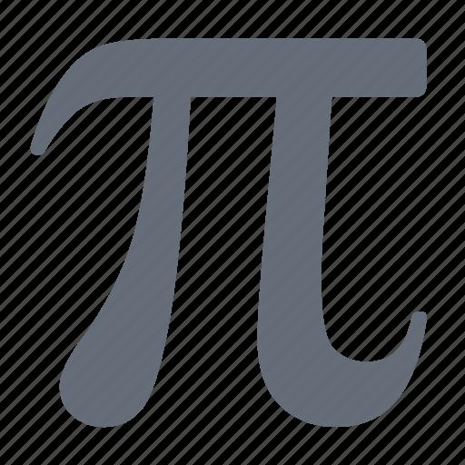 calculus, equations, formulas, functions, insert, mathematics, pi icon