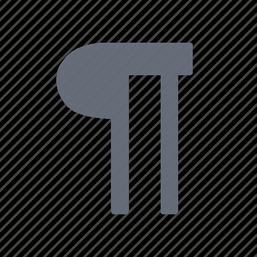 marker, paragraph, small, structure icon