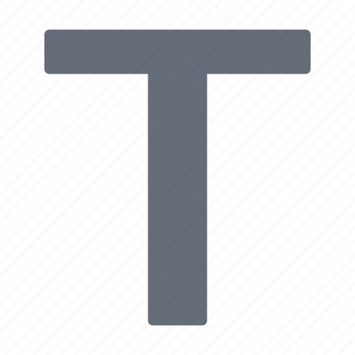alphabet, police, processing, style, text, word icon