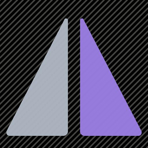 flip, horizontal, image, photo, picture, symmetry icon