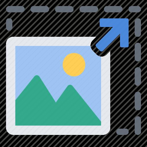 image, percentage, photo, picture, scale, set icon