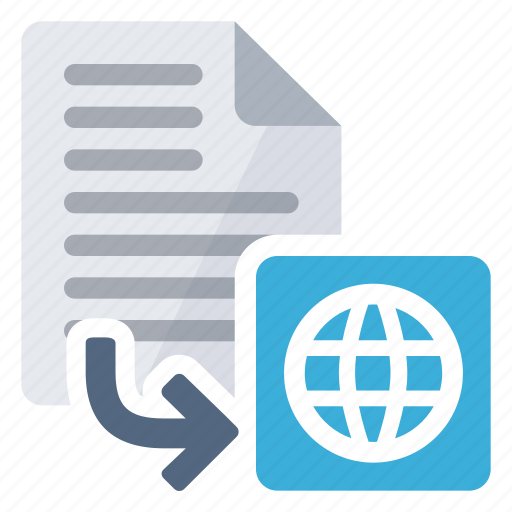 convert, document, export, extension, from, html icon