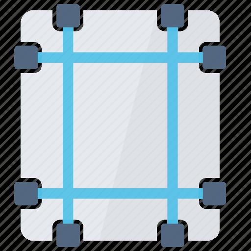adjust, configuration, margins, set, style icon
