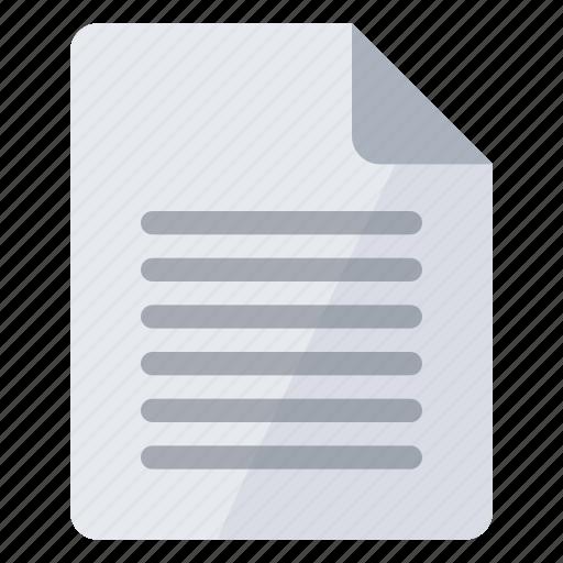 document, orientation, page, portrait, sheet icon