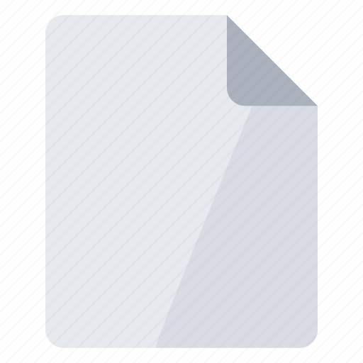blank, create, empty, new, page, portrait icon
