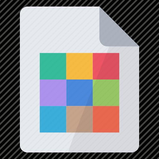color, page icon