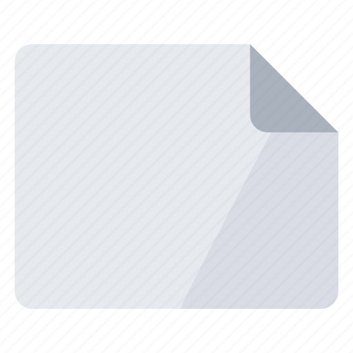blank, create, empty, landscape, new, page icon