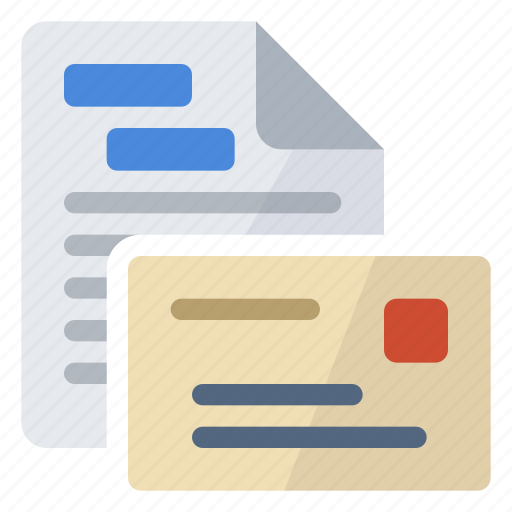 fields, mailing icon