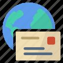 internet, mailing icon