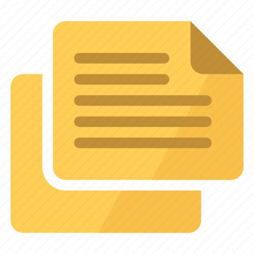 comments, post-its, review icon