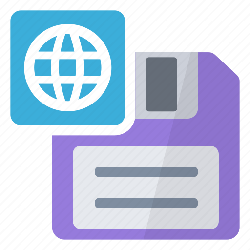 as, html, save icon