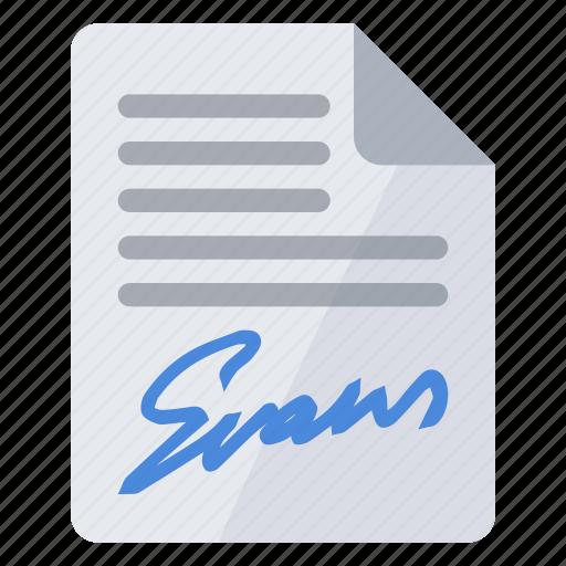 authentification, certification, signature icon