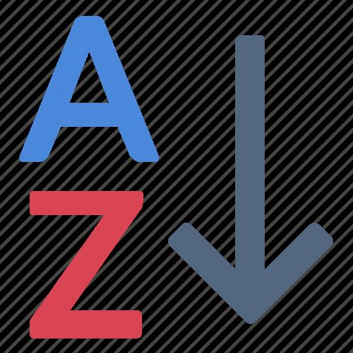 Alphabet, az, sort icon - Download on Iconfinder